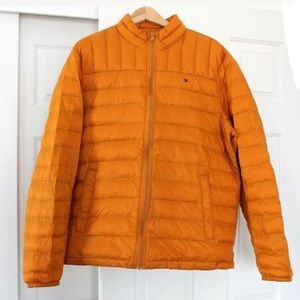 Tommy Hilfiger down jacket snow winter light men L
